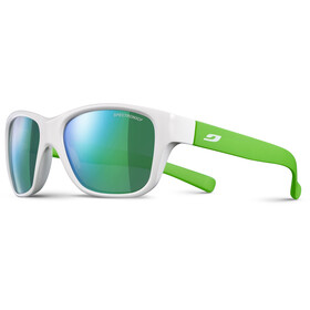 Julbo Kids 4-8Y Turn Spectron 3CF Sunglasses Shiny White/Fluorescent Green-Multilayer Green